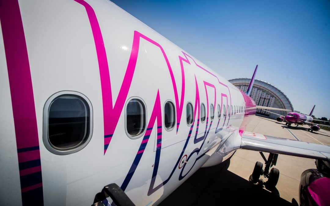 Skrydžio į Londoną metu sugedo Wizzair lėktuvas