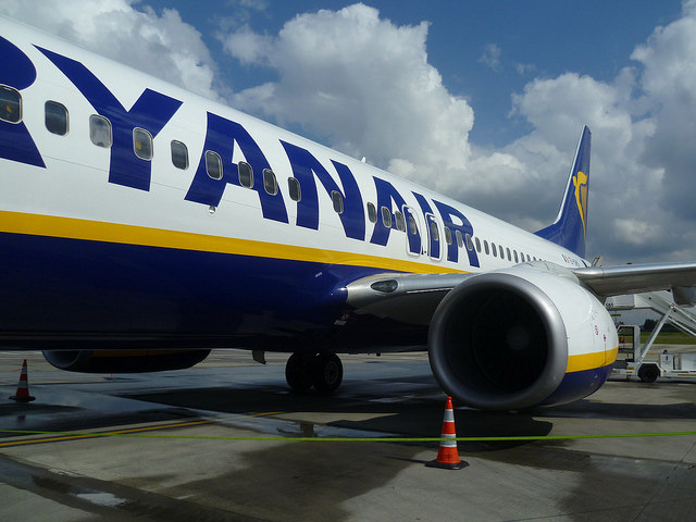 Europos Sąjunga pradeda tyrimą dėl Ryanair veiklos