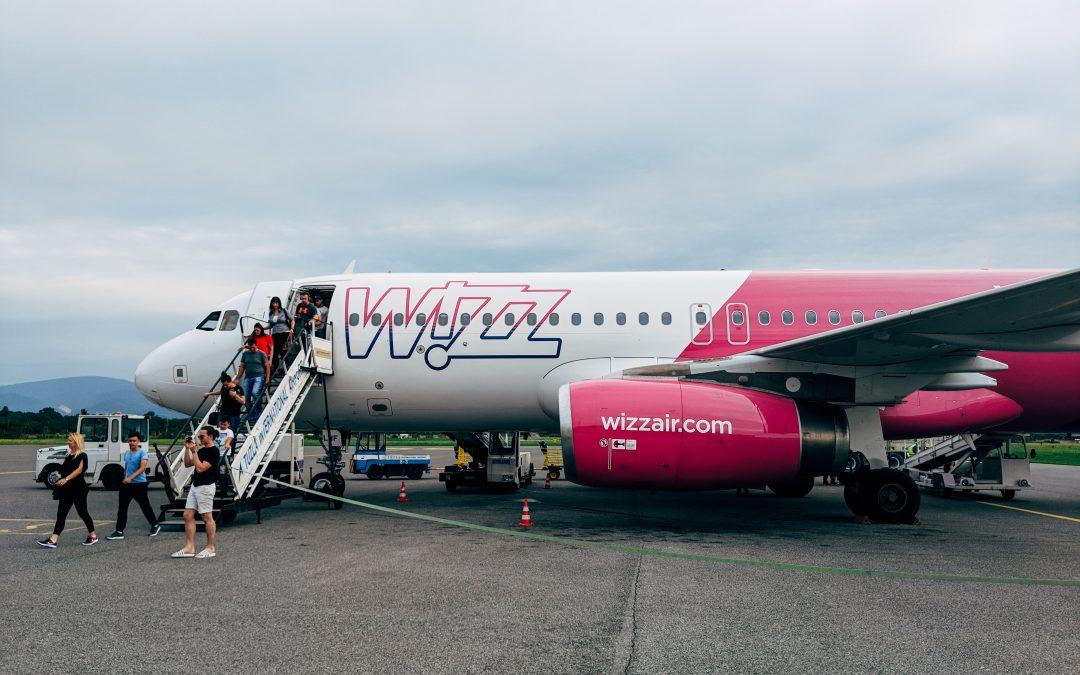 Wizzair skrydžiai iš Vilniaus